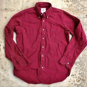 Brooks Brothers Black Fleece Thom Browne Red Shirt